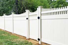 Vinyl Fence Installation Montgomery Fencing Company